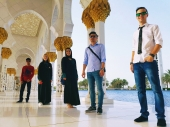 One day in Adu Dhabi